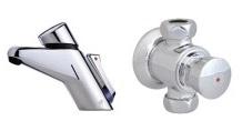 robinets automatiques delabie presto pour lavabo douche wc. Black Bedroom Furniture Sets. Home Design Ideas