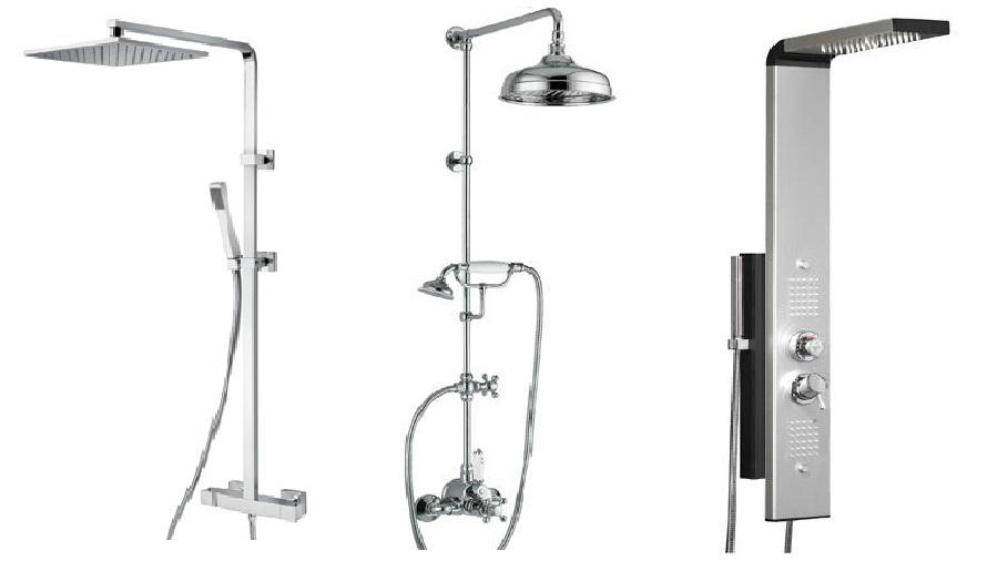 Colonnes de douche et accessoires - Plomberie.fr