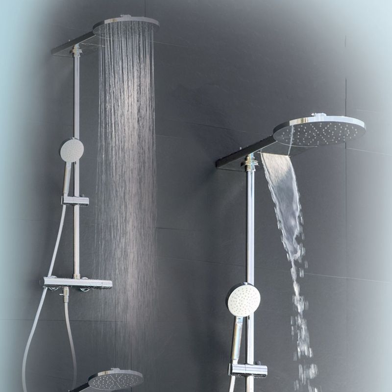 colonne de douche hansgrohe showerpipe verso 240. Black Bedroom Furniture Sets. Home Design Ideas