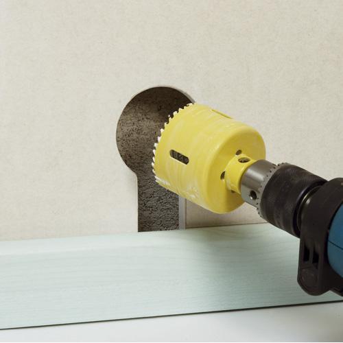 Scie cloche et trepans pour cloisons s ches 67 mm - Scie cloche 67 ...