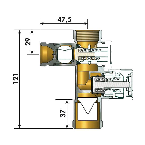 Groupe de s curit droit standard somatherm for Fonctionnement groupe de securite chauffe eau