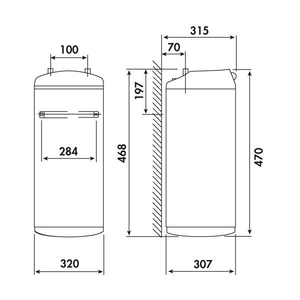 Chauffe eau lectrique fagor 15l sous vier cbs 15f1 - Chauffe eau electrique faible encombrement ...