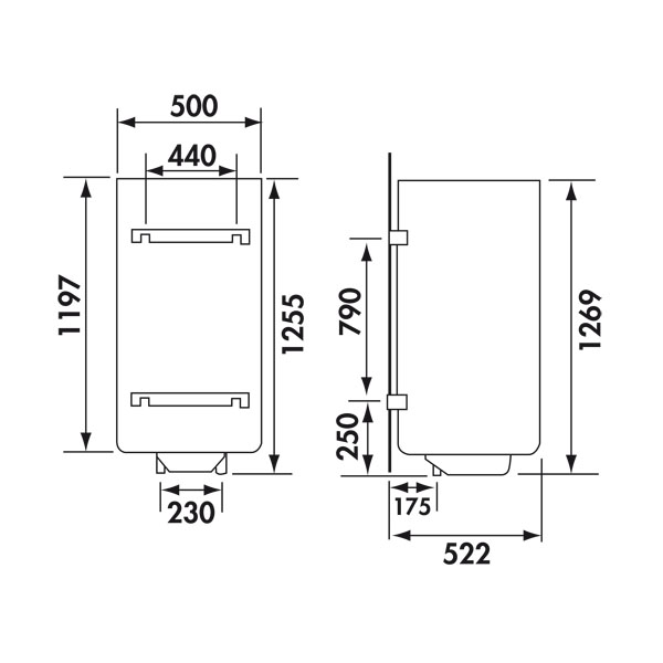 chauffe eau lectrique fagor 150l thermogain aep mural tge 150. Black Bedroom Furniture Sets. Home Design Ideas