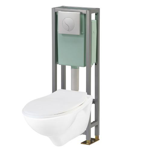 Packs wc suspendus for Wc suspendu reglable en hauteur