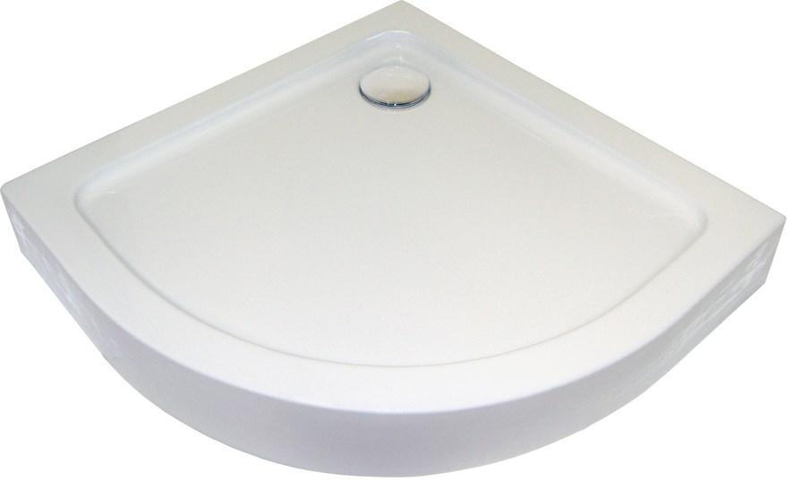 receveur de douche 1/4 de cercle 100×100