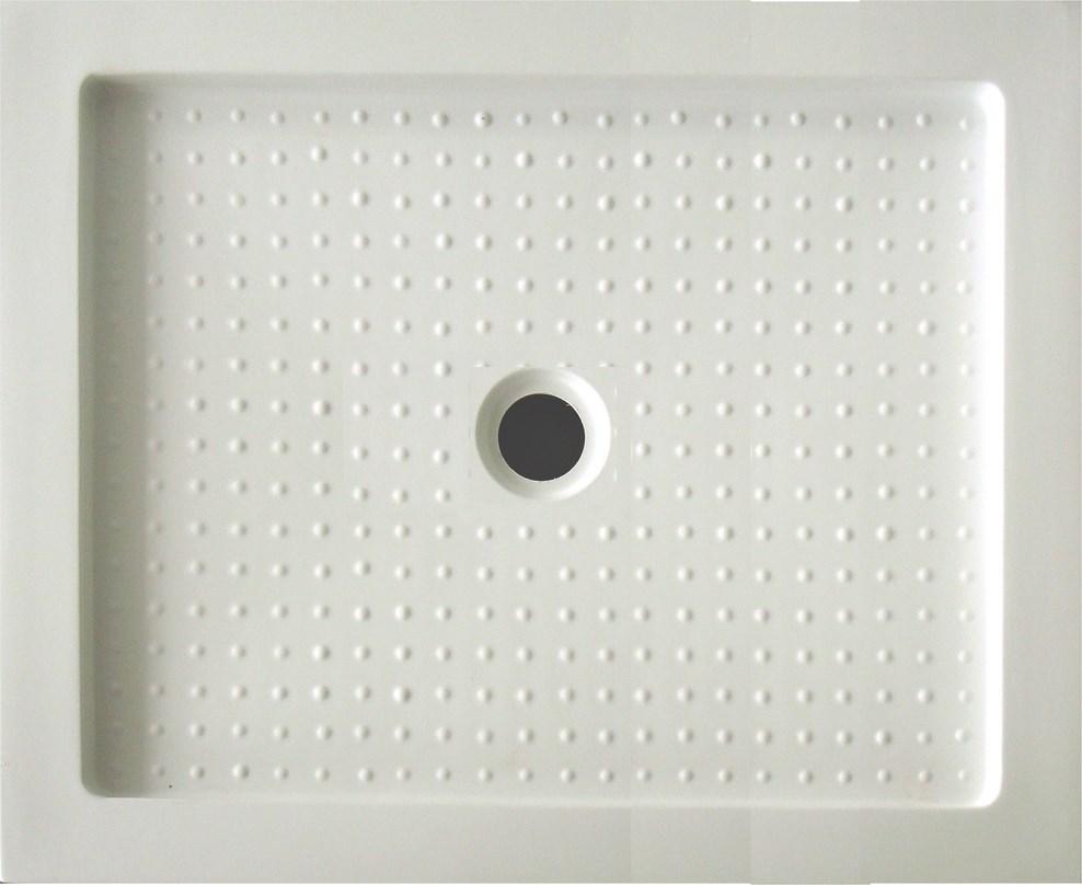 Receveur de douche acrylique rdd 75x100 cm for Panneau de douche acrylique