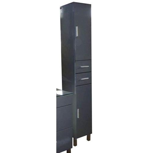 Colonne banka grise 189 cm for Colonne de salle de bain grise