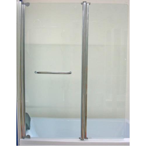 pare baignoire double tulpa 120x140 cm verre s curit 6 mm. Black Bedroom Furniture Sets. Home Design Ideas