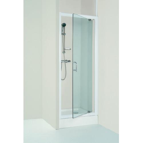 Porte de douche wfd80tp 80x185 cm lt aqua for Porte douche pivotant