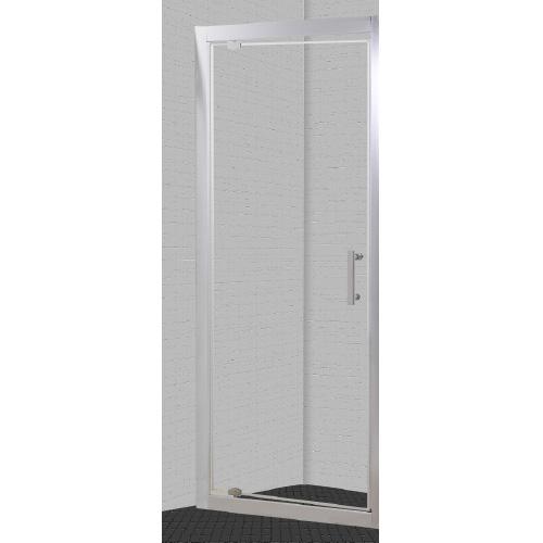 Porte de douche ekla fa ade 80x185 cm lt aqua - Porte douche pivotant ...