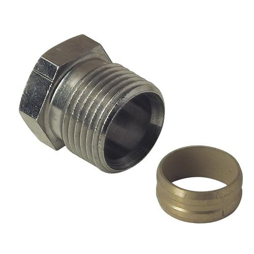 RACCORD A COMPRESSION POUR ROBINET THERMOSTATIQUES DANFOSS