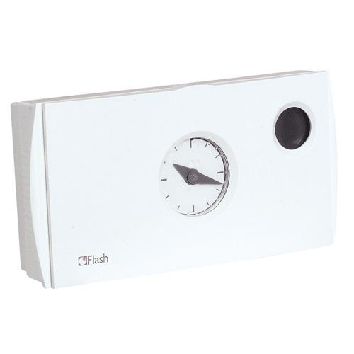 THERMOSTAT FILAIRE A HORLOGE PROGRAMMABLE FLASH