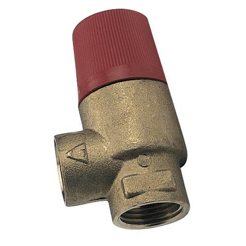 Soupape de securite pour installation de chauffage en circuit ferme - Douche en circuit ferme ...