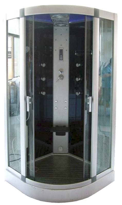cabine de douche square 100x100 hydromassante lt aqua. Black Bedroom Furniture Sets. Home Design Ideas