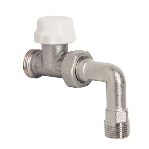 Corps de robinets de radiateurs - Radiateur avec robinet thermostatique ...