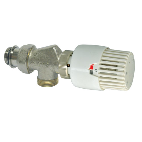 Robinets de radiateurs bulbe liquide - Robinet thermostatique equerre inversee ...