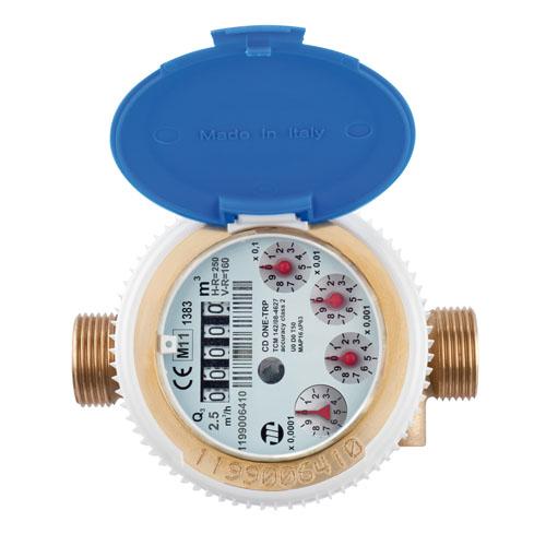 Compteur d 39 eau divisionnaire flodis jet unique eau - Compteur eau froide ...