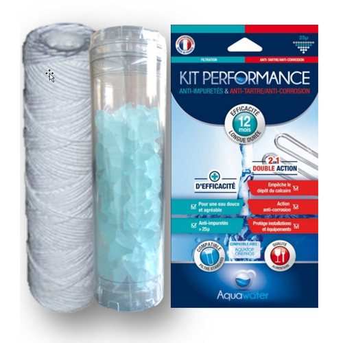 KIT PERFORMANCE 1 AN ANTI TARTRE ANTI CORROSION