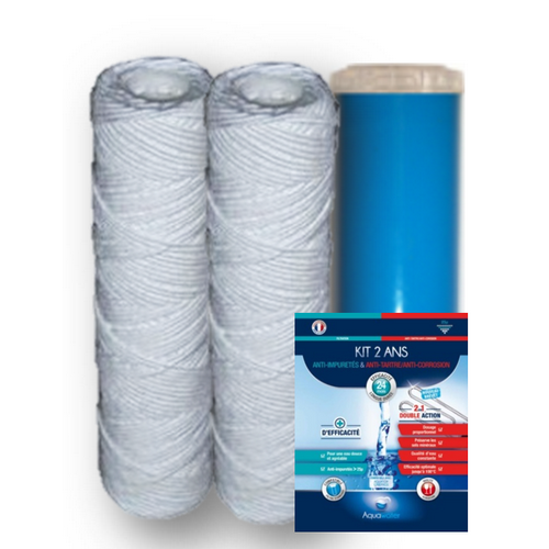 KIT EXCELLENCE 2 ANS ANTI TARTRE ANTI CORROSION