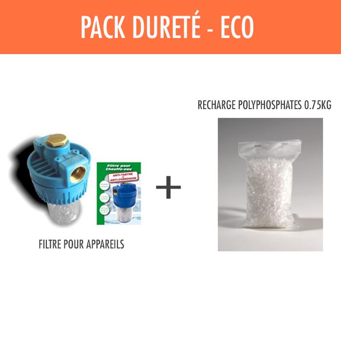 Pack anti tartre eco - Filtre anti tartre ...