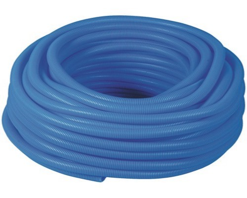 Gaine protection - Ø20 mm int - 100 m - bleu