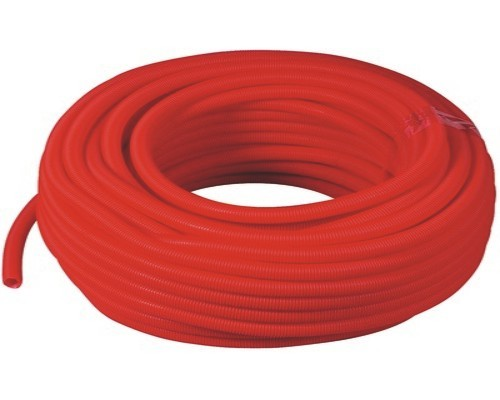 Tube PER nu Ø 25 mm - 1  m - PEX-A - rouge