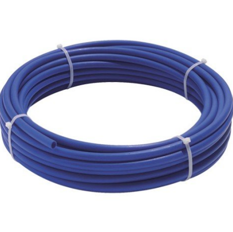 Tube PER nu Ø 16 mm - 5 m - bleu