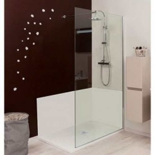 panneau mural blanc 90 x 90 concept o. Black Bedroom Furniture Sets. Home Design Ideas
