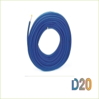 Tube multicouche gainé - Ø20 mm - 25m - bleu