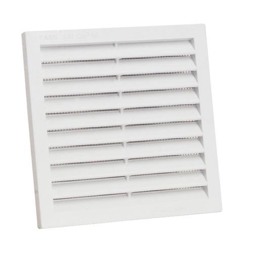 Grille de ventilation carr e encastrer for Sortie exterieur hotte de cuisine