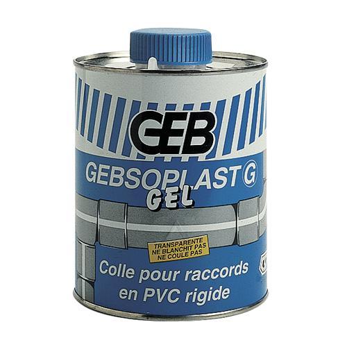 Colle g gel pour tubes et raccords pvc rigide 250 ml for Colle pour fenetre pvc