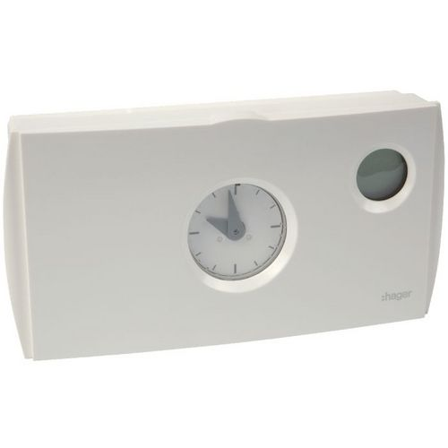 Thermostat Hager Thermoflash cycle 24h de 6 à 30°C