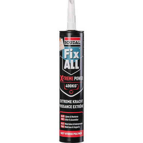 Mastic Fix All Soudal High X-Treme Power 290ml blanc