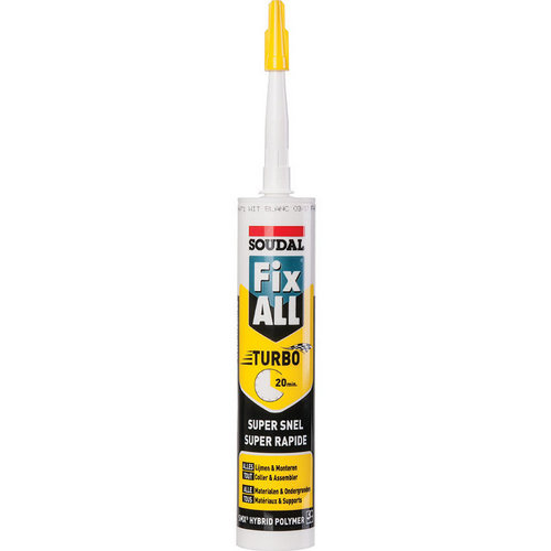 Mastic Fix All Soudal Turbo 290ml blanc