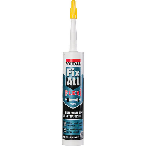 Mastic Fix All Soudal Flexi 290ml universel blanc
