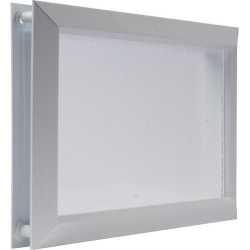 Hublot rectangulaire de porte de garage 380x225mm Nicoll