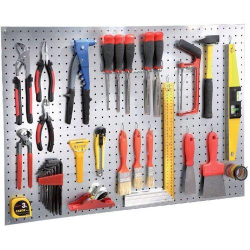 Panneau porte-outils perforé avec crochets - Plomberie.fr