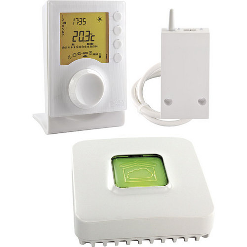Pack thermostat sans fil Tybox 137 connecté Delta Dore