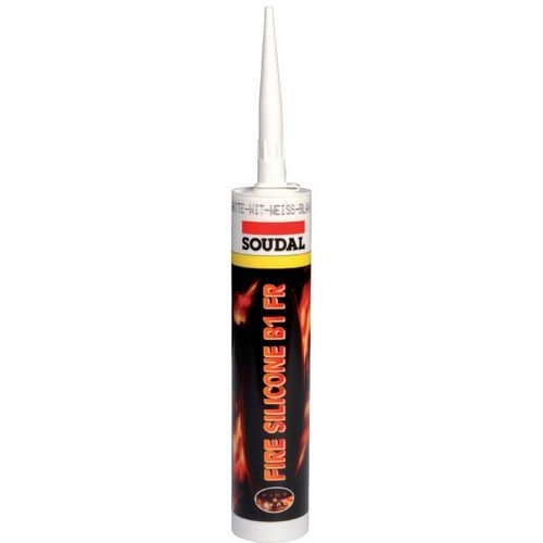 Fire silicone joint d'expansion résiste au feu 310ml SOUDAL