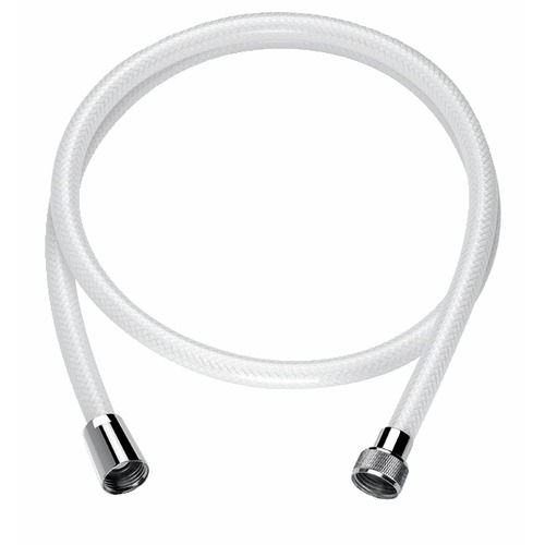 Flexible renforcé nylon blanc L=1m FF1/2