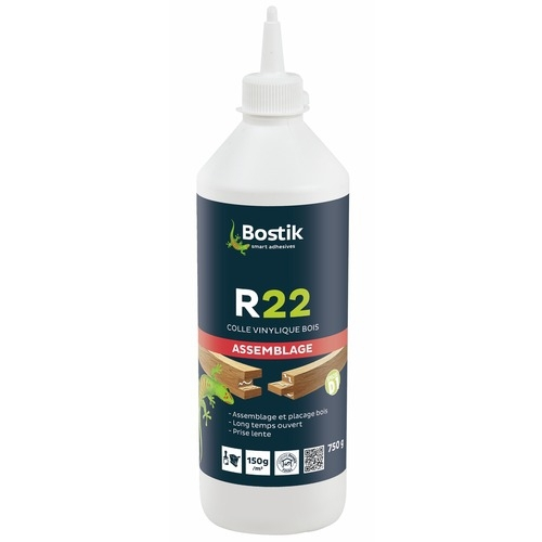 Colle vinylique R22 Bostik - 750g