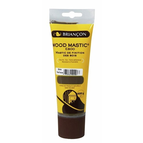 Mastic bois de finition Wood Mastic E800 blanc - tube 400g