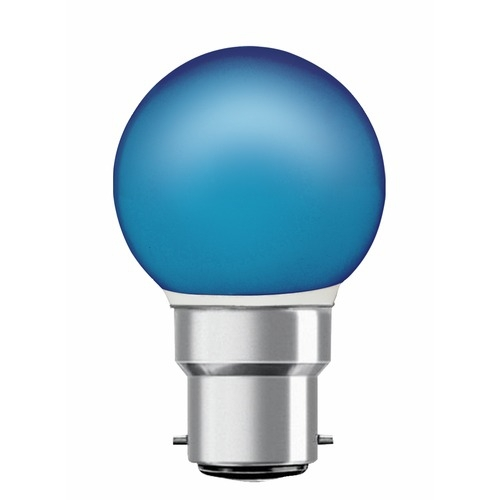 Lampe LED sphérique Toledo bleue 0,5W H67xDiam45mm