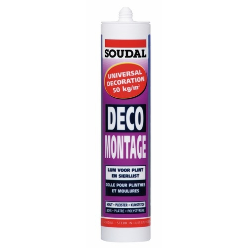 Colle Déco Montage Soudal - 300ml