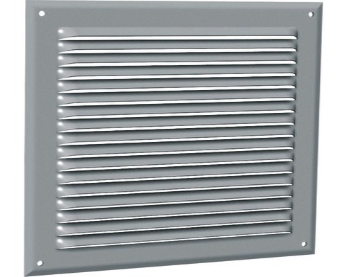 Grille alu H75xL140, ép 9mm, 30cm² d'air