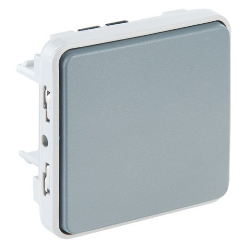 Poussoir NO Plexo composable IP 55 Legrand 069540