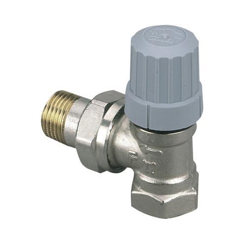 Corps de robinet querre laiton nickel ra n equerre - Reglage robinet thermostatique ...