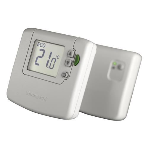 Thermostat d 39 ambiance lectronique sans fil honeywell - Thermostat programmable sans fil ...
