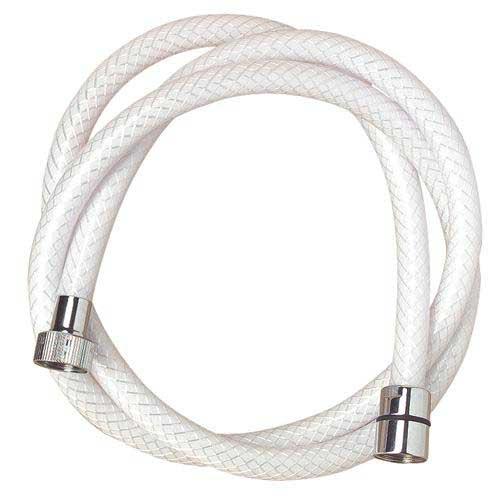 Flexible de douche lisse en nylon haute r sistance 1 5 m - Prix flexible de douche ...