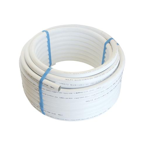Tube multicouche nu - Ø 16 mm - 50 m - blanc